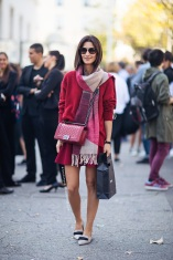 Best of Paris Fashion Week SS15 Street Style 37