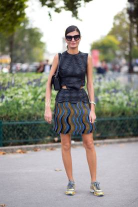 Best of Paris Fashion Week SS15 Street Style 67