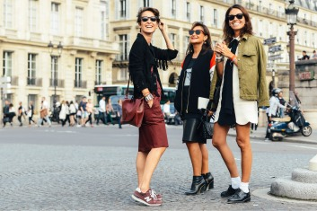 Best of Paris Fashion Week SS15 Street Style 7