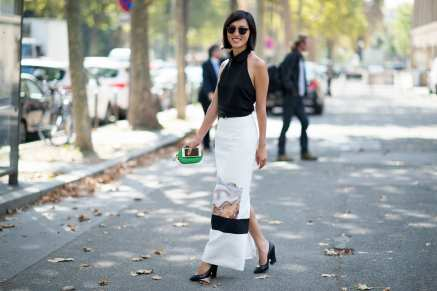 Best of Paris Fashion Week SS15 Street Style 92