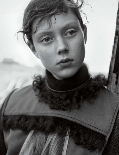 Natalie Westling by Karim Sadli for Vogue UK October 2014