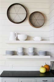 sieve wall decor
