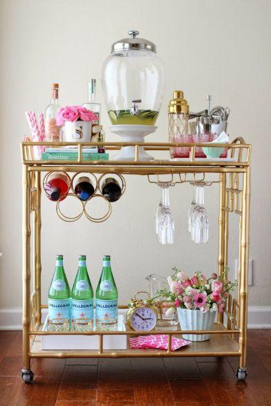 spring bar cart