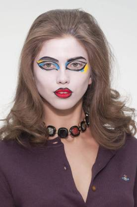 Halloween Makeup Inspiration From Runway | Vivienne Westwood Red Label Fall2013