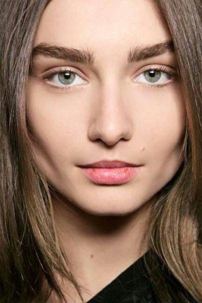 bold bushy eyebrows
