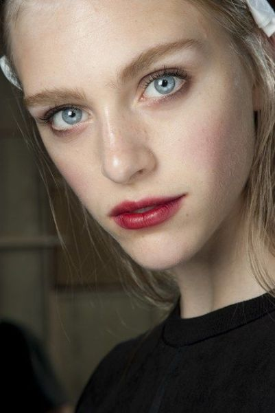 stained lips fall 2014 beauty trends 10